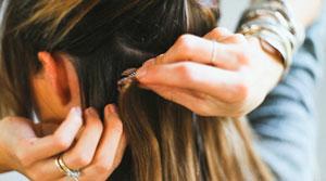 آموزش مرحله به مرحله اکستنشن مو